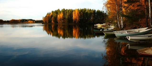 Fishing the north in the fall