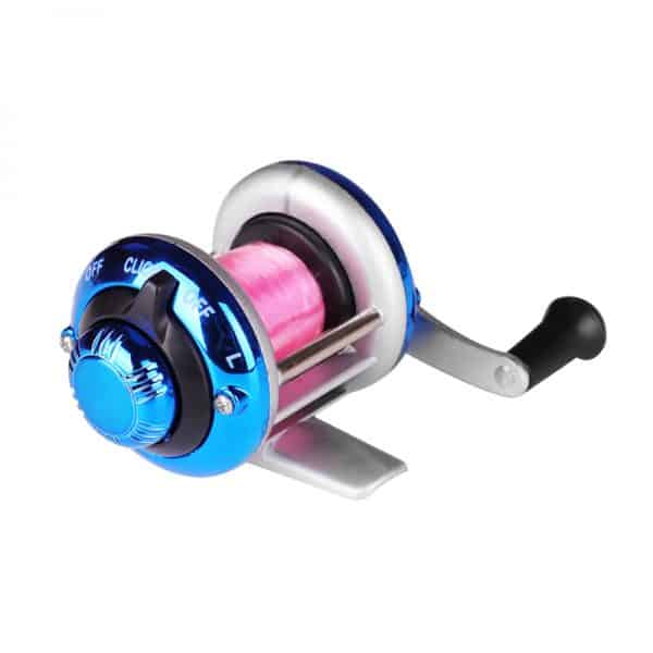 Mini Metal Ambidextrous Ice Fishing Reel